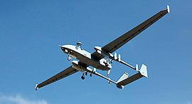 """הרון 1 מזל""""ט כלי טיס בלתי מאויש של תעשייה אווירית, צילום: gettyimages"""