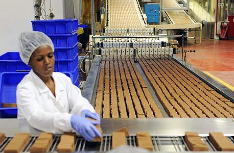 פס ייצור במפעל שטראוס