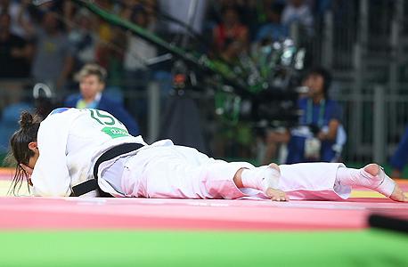 ירדן ג'רבי אחרי הניצחון, צילום: אורן אהרוני