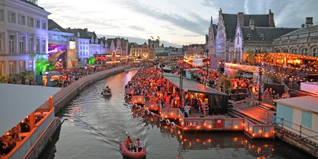 גנט, בלגיה: כשהעיר הולכת לישון ואני מתעוררת