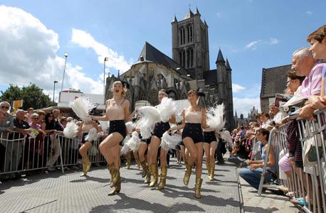 מבלים בפסטיבל גנט , צילום: Stad Gent