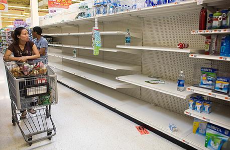 סופרמרקט ריק בוונצואלה, צילום: רויטרס