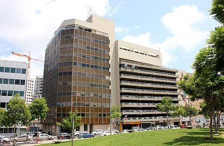 """מבנה המתחם ברחוב סעדיה גאון 24 בת""""א"""