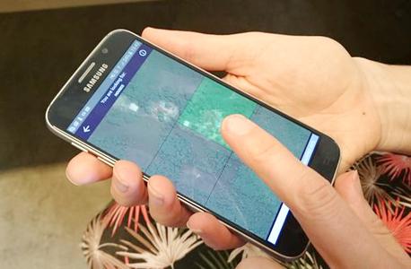 אפליקציה MapSwipe סיוע הומניטרי, צילום: MapSwipe