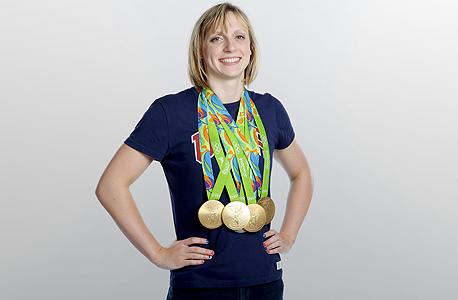קייטי לדקי. השחייה תהנה מההצלחה שלה, צילום: גטי אימג