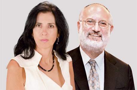מימין אדוארדו אלשטיין ו דורית סלינגר, צילומים: אוראל כהן ,Avi Ohayon