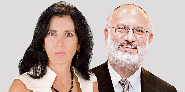 מימין אדוארדו אלשטיין ודורית סלינגר, צילומים: אוראל כהן ,Avi Ohayon