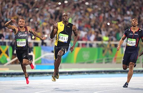 ריצת 100 מטר אולימפיאדה ריו 2016, צילום: אם סי טי