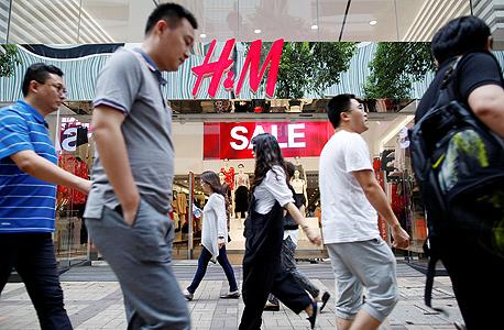 חנות H&M בהונג קונג
