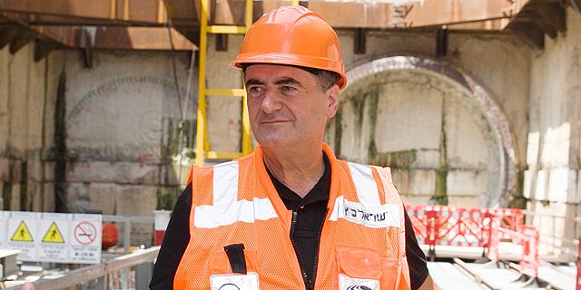 שר התחבורה ישראל כץ , צילום: אוראל כהן