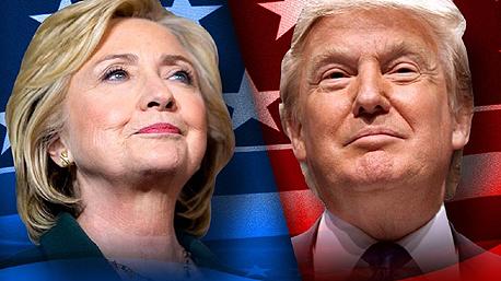 דונלד טראמפ ו הילרי קלינטון מניות