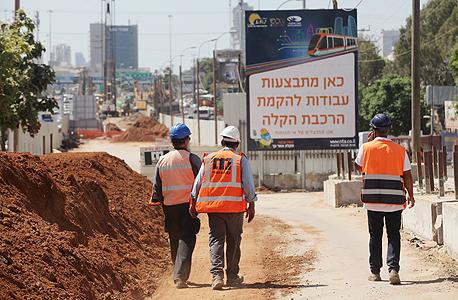 """עבודות הרכבת הקלה בתל אביב. """"לא תמיד צריך לבחור בפתרון הכי יקר והכי פחות גמיש"""""""