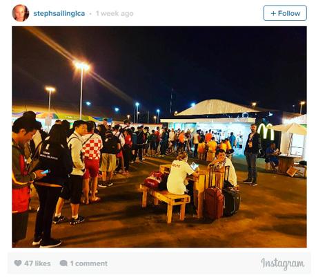 מקדונלד'ס ריו 2016 תור ספורטאים, צילום: instagram