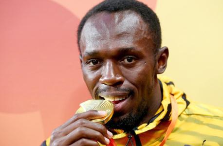 יוסיין בולט זוכה בריו 2016 במדליית זהב, צילום: גטי אימג