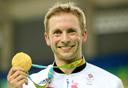 ג'ייסון קני, רוכב האופניים הבריטי שזכה בזהב, צילום: איי פי
