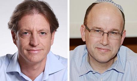 """מימין: עו""""ד אסף פוזנר ומנכ""""ל"""