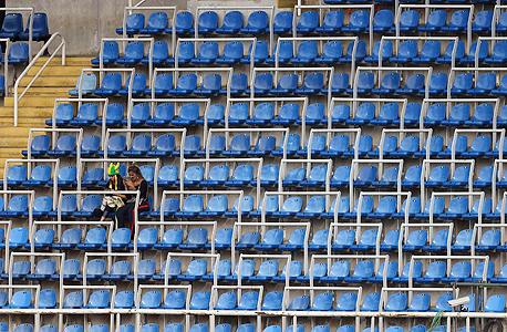 מושבים ריקים באולימפיאדה. הקהל הברזילאי לא קהל של אולימפיאדות
