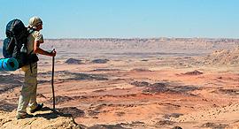 שביל ישראל, מכתש רמון , צילום: israeltrail.julianbender