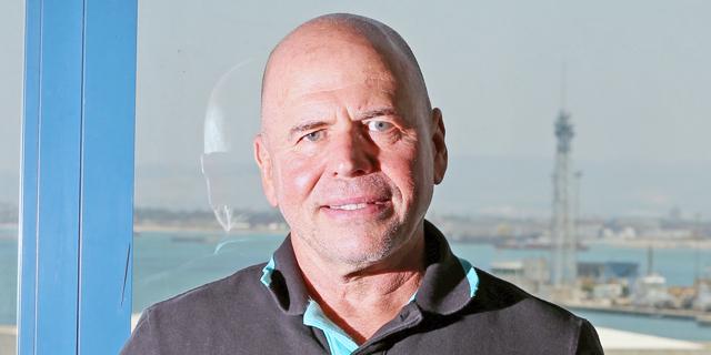 """מנדי זלצמן מנכ""""ל נמל חיפה, צילום:אלעד גרשגורן"""