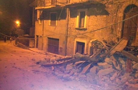 רעש אדמה רעידת אדמה איטליה אמטריס, צילום: twiiter / francescoameli