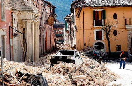 רעש אדמה רעידת אדמה איטליה אמטריצ'ה 2, צילום: twitter / DivaKnevil