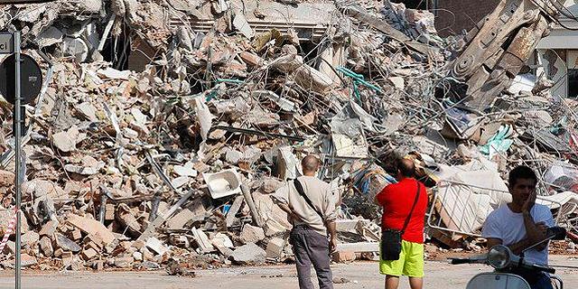 רעידת האדמה בעיר אמטריצ