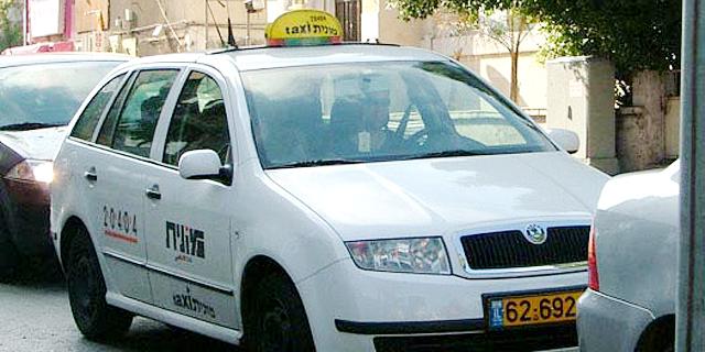 מאות נהגי מונית מוחים בכבישי תל-אביב