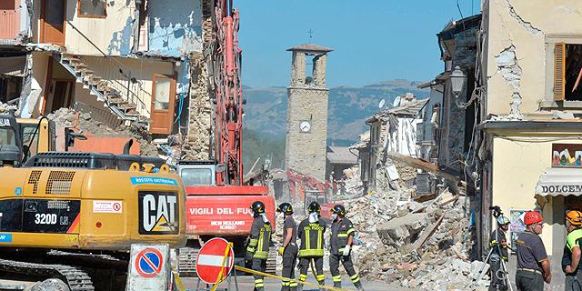 אחרי רעידת האדמה: איטליה תבקש מהאיחוד האירופי הקלה בחוקי הגירעון