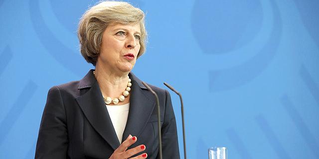 ראשת ממשלת בריטניה תרזה מיי. ברקזיט זה ברקזיט, צילום: גטי אימג