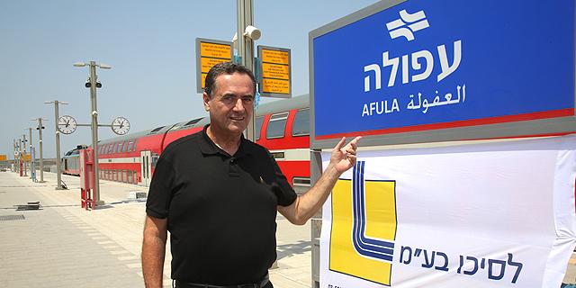 שר התחבורה, ישראל כץ , צילום: ששון תירם