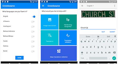 גוגל אפליקציה Crowdsource, צילום: GooglePlay