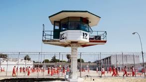 בית הכלא הפרטי צ'ינו בקליפורניה, צילום: רויטרס
