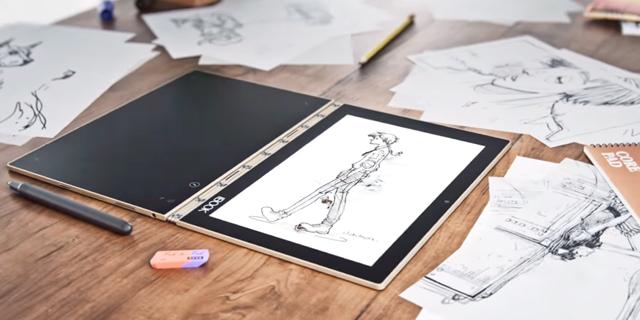 לנובו יוגה בוק: האבולוציה של הטאבלט