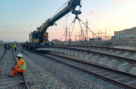העבודות ברכבת