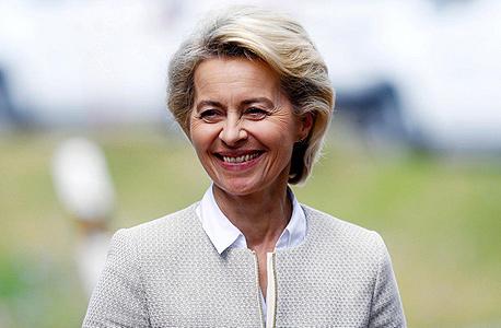 אורסולה פון דר ליין נשיאת הנציבות האירופית