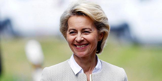 אורסולה פון דר ליין נשיאת הנציבות האירופית , צילום: רויטרס