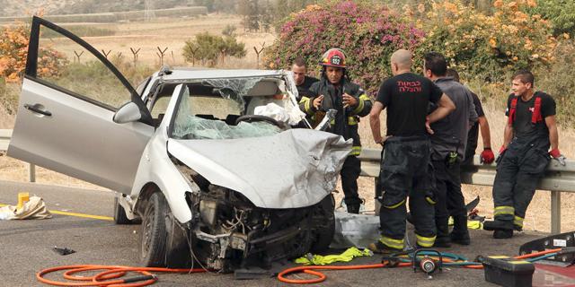 364 בני אדם נהרגו ב-2017 בתאונות דרכים, ירידה של 3%