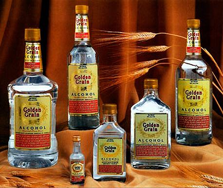 גולדן גריין Golden Grain משקאות חריפים אלכוהול, צילום: travel and leisure