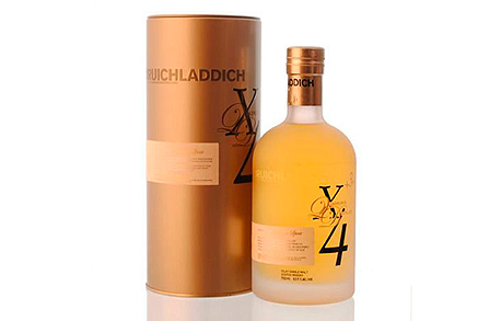 ויסקי Bruichladdich X4 משקאות חריפים אלכוהול , צילום: travel and leisure