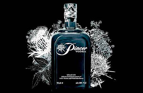 וודקה פינסר שנגחאי Pincer Shanghai Strength משקאות חריפים אלכוהול, צילום: travel and leisure