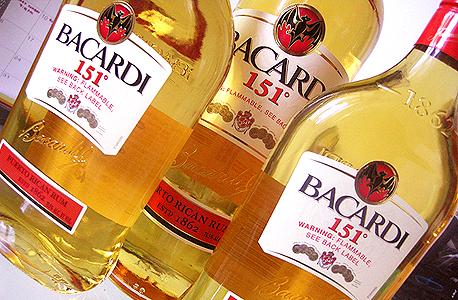 באקרדי בקארדי Bacardi 151 משקאות חריפים אלכוהול, צילום: travel and leisure