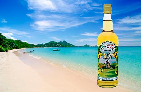 קלארק'ס קורט ספייסי רום Clarke's Court Spicy Rum משקאות חריפים אלכוהול , צילום: travel and leisure