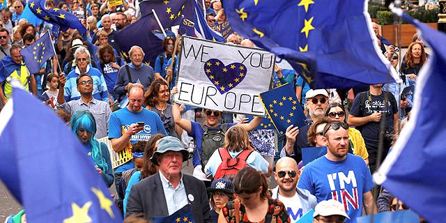 """״בריטניה חייבת לאיחוד האירופי 63 מיליארד דולר, היא חייבת לשלם לפני שתעזוב"""""""