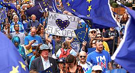 הפגנה נגד הברקזיט בלונדון, צילום: רויטרס