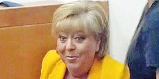 מרים פיירברג בבית המשפט השבוע