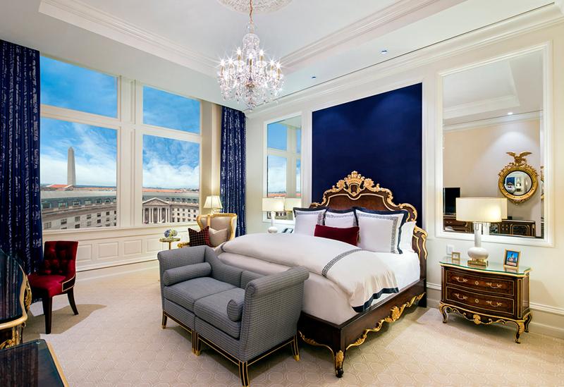 """חדר """"סטנדרטי"""" במלון של טראמפ"""