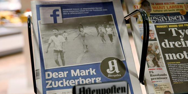 פייסבוק צנזרה את ההיסטוריה, והסתבכה