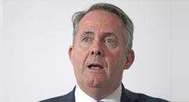 שר המסחר של בריטניה ליאם פוקס, צילום: רויטרס