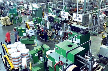A Netafim manufacturing plant. Photo: Amit Sha'al