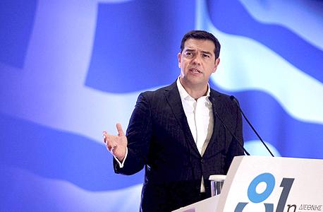 ראש ממשלת יוון אלכסיס ציפרס, צילום: רויטרס